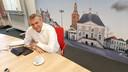 Wethouder Toine Theunis is tevreden over het huishoudboekje van Roosendaal.