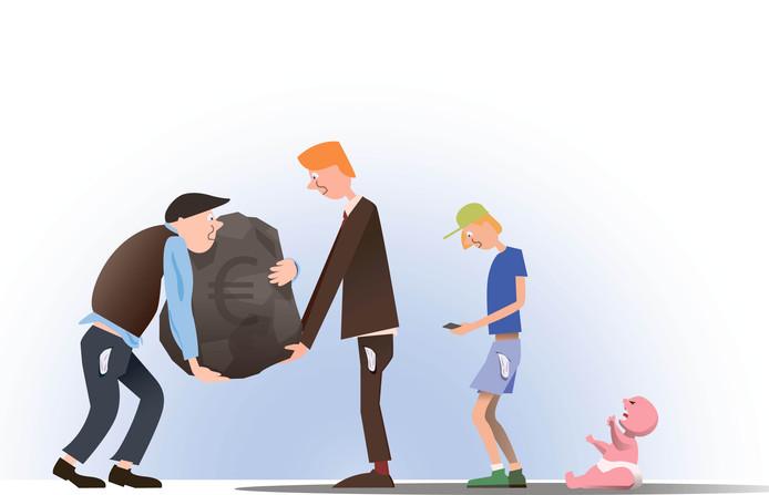 e8972109728 Kinderen van ouders met schulden kampen vaak ook met geldproblemen ...