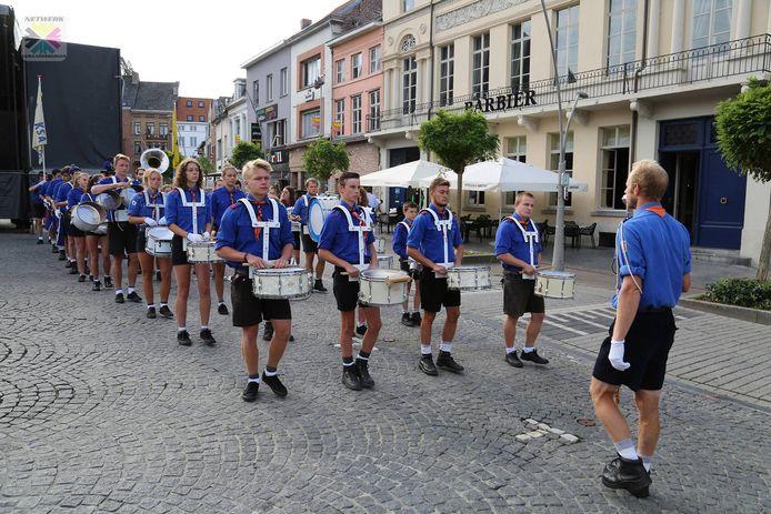 Het muziekkorps van KSA Geraardsbergen bestaat 40 jaar.