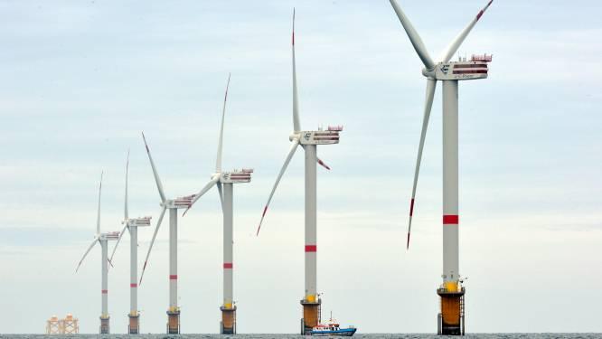 Windparken op zee verhogen de koolstofopslag in zeebodems