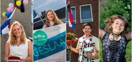 De vlag mag uit! Deze middelbare scholieren uit de regio Arnhem zijn geslaagd: 'Ik was heel erg aan het ijsberen'