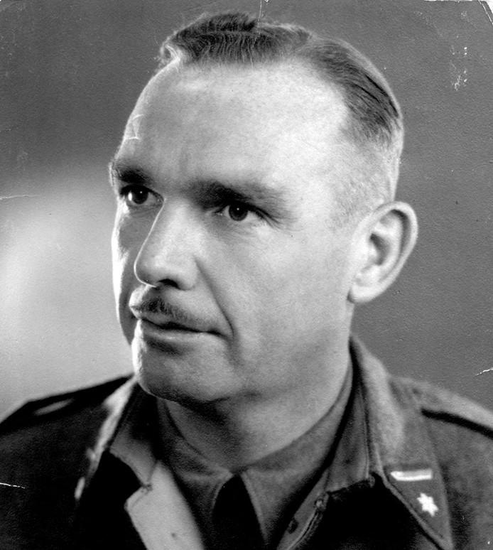 luitenant-kolonel Marinus den Ouden, geboren in Oud Gastel