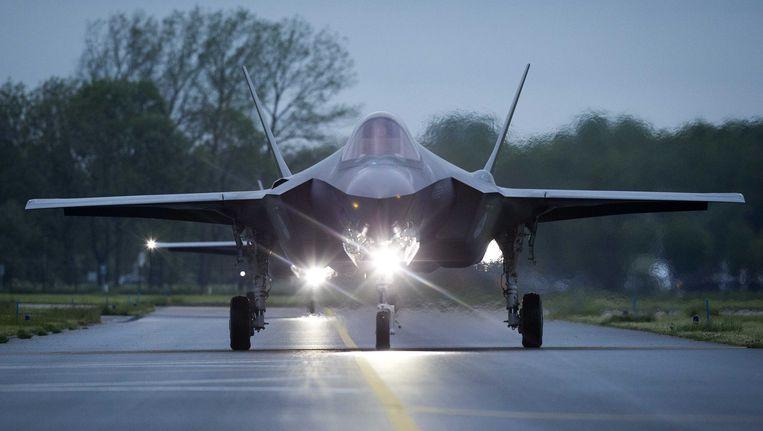 Een F-35 (beter bekend als de Joint Strike Fighter of JSF) Beeld anp