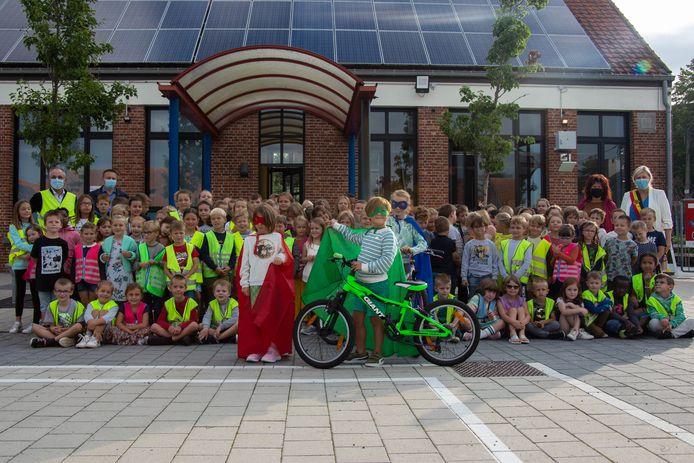De leerlingen van de basisschool in Eindhout zijn alvast enthousiast.