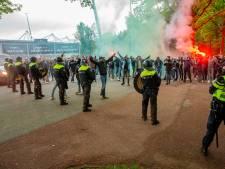 Bruls baalt van botsing NEC-fans en politie: 'Zo'n hevige confrontatie hebben we in jaren niet gezien'