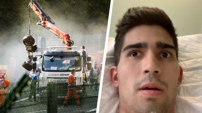 F2-rijder die op betreurde Anthoine Hubert knalde biedt familie medeleven aan in filmpje