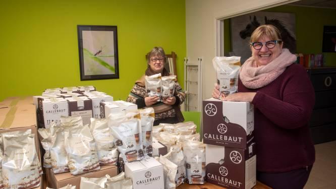 Callebaut schenkt 280 kilo chocolade aan mensen in armoede via PWO