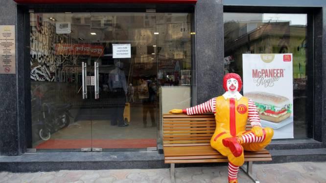 Ook Nederlandse McDonald's houdt clown Ronald even binnen
