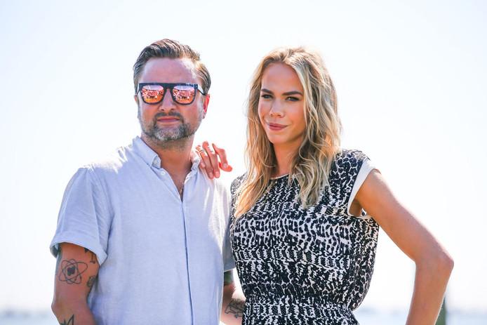 Nicolette Kluijver en Dennis Weening.