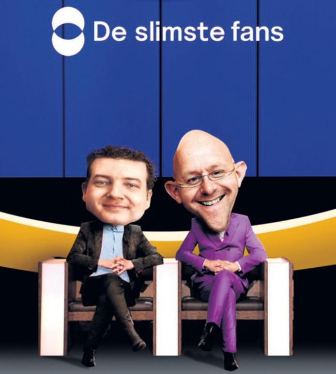 Gudo en Alexander zijn fan van De Slimste Mens.