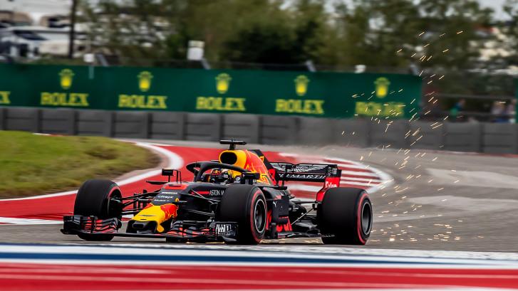 Verstappen wacht inhaalrace in Austin