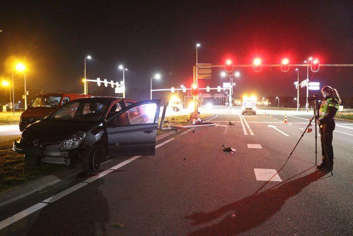 Gewonde na aanrijding tussen twee auto's op N237 bij De Bilt