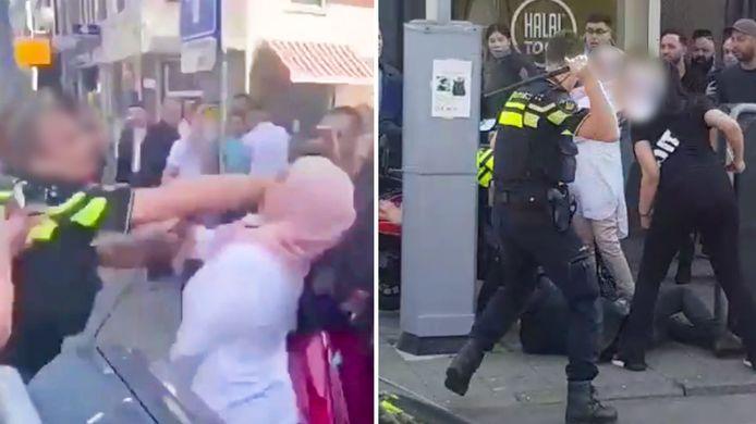 Onrust in de Kanaalstraat afgelopen april, als er na een aanhouding een vechtpartij ontstaat tussen agenten en omstanders