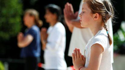 Yoga in openlucht in provinciedomeinen van 't West-Vlaamse hart