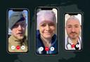 In Frontberichten filmden hulpverleners zelf hun werkplek.