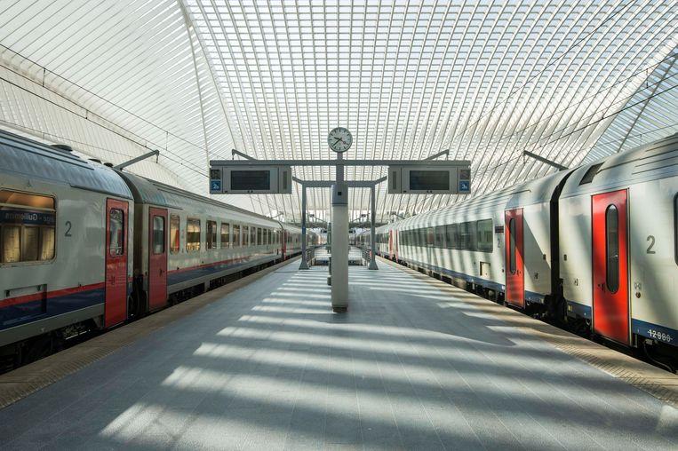 Het station van Luik. (Archieffoto)