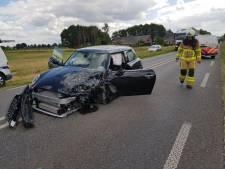 Drie gewonden bij frontale botsing Terborgseweg-N317