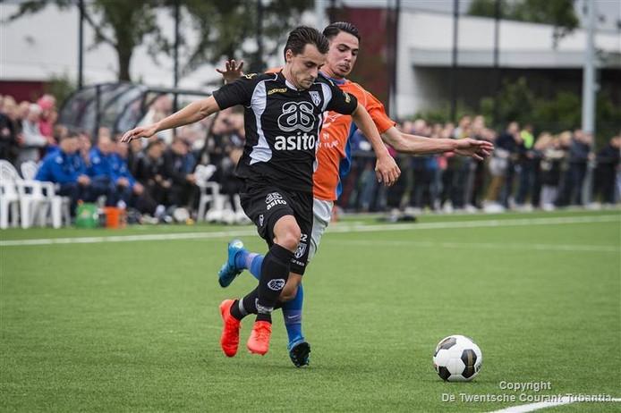 Daryl van Mieghem maakte de 0-1.