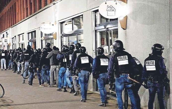 Politie-inval in Ypenburg tegen spookbewoning