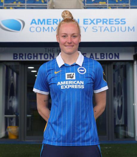 Danique wil met Brighton de Engelse top bestormen en geniet voorlopig even van familie en vrienden in Olst