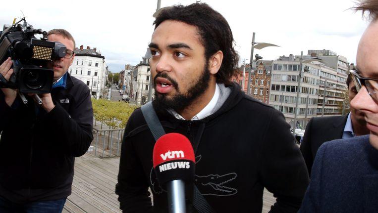 Jejoen Bontinck staat zelf terecht in het terrorismeproces rond Shariah4Belgium in Antwerpen.