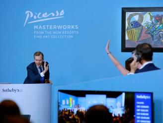 Werken van Picasso voor ruim 85 miljoen euro geveild in Las Vegas
