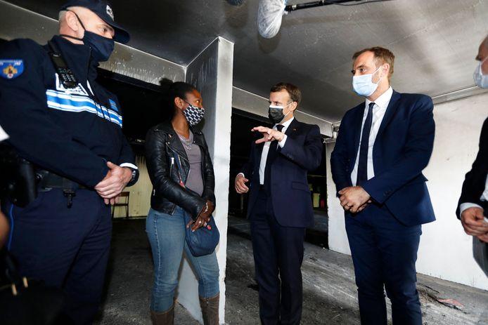 Au-delà de la question des trafics, les résidents ont alerté le président Macron sur le manque de mixité de ce quartier, qui a accueilli de nombreux immigrés depuis sa création et dont 58% des 22.000 habitants vivent sous le seuil de pauvreté.