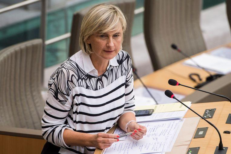 Vlaams minister van Onderwijs Hilde Crevits (CD&V).