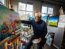 Nijverdaller Cees van Sparrentak (74) overleden: 'Kunst is emotie en achter elk schilderij zit een verhaal'