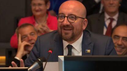 Grappende Michel vergelijkt WK met NAVO
