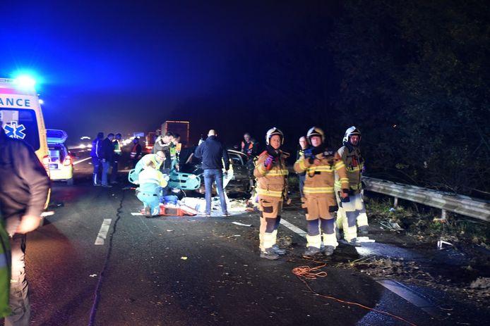 Op de A12 is bij Zevenaar een ongeval gebeurd.