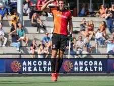 Hattrick Beins beslist doelpuntrijke derby tussen Oranje-Rood en HC Tilburg  in Eindhovens voordeel