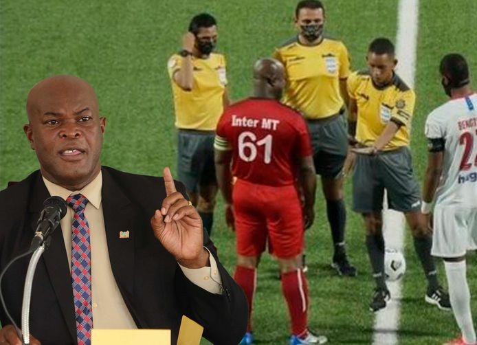 Ronnie Brunswijk (60) als vicepresident van Suriname én aanvoerder van Inter Moengotapoe.