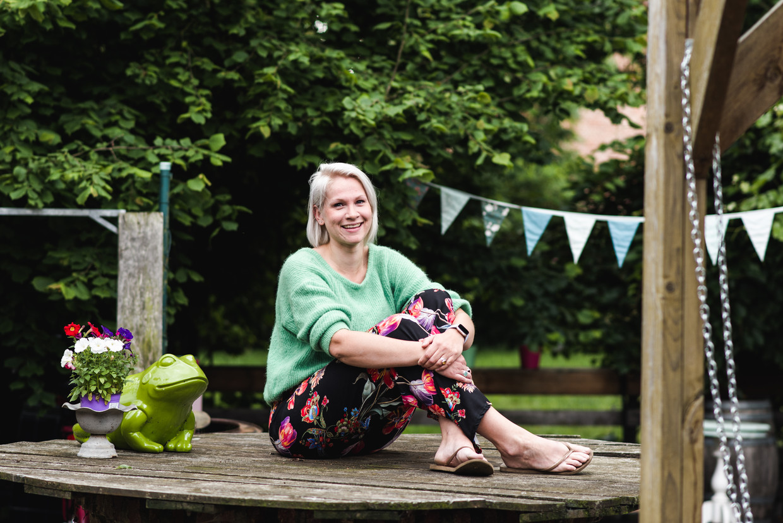 Sarah Cornelis kreeg drie jaar geleden een gastric bypass. 'Ik heb het ene dieet na het andere geprobeerd, niets hielp.' Beeld Tine Schoemaker