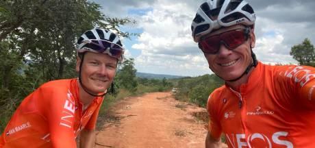 Van Baarle met Froome op safari in Zuid-Afrika: 'Chris kende alle dieren'