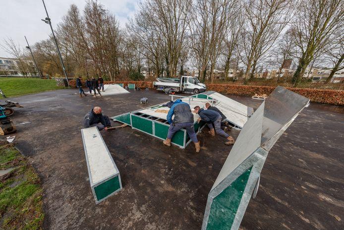 De skatebaan aan de Kristallaan in Zevenbergen krijgt een facelift.