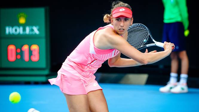 Elise Mertens treft Sevastova of Garcia in tweede ronde WTA Adelaide