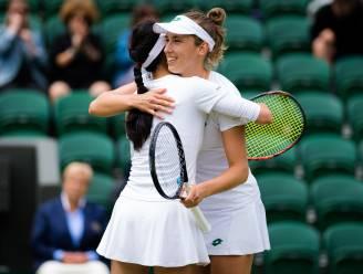 Elise Mertens stoot door naar finale in dubbelspel op Wimbledon