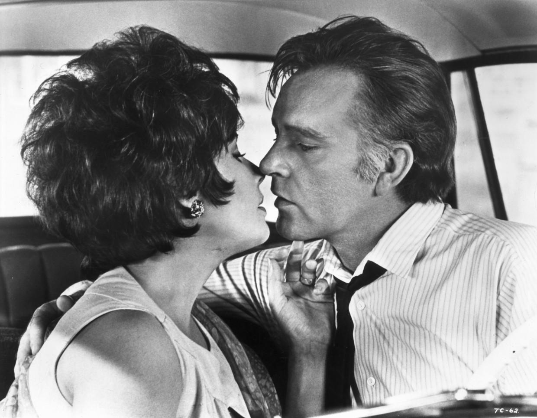Elizabeth Taylor en Richard Burton Beeld Getty Images