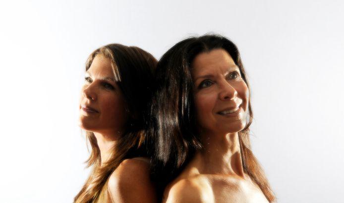 Bad Barracuda (links Mireille, rechts Debby) - persfoto Mitch van Leeuwen