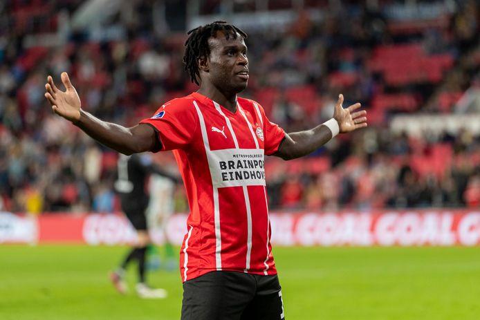 Armindo Bruma kende een goede augustusmaand bij PSV.