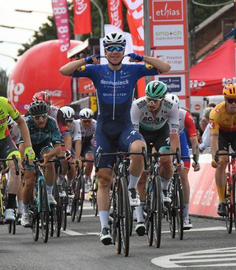 Jakobsen sluit Ronde van Wallonië fraai af: tweede dagsucces