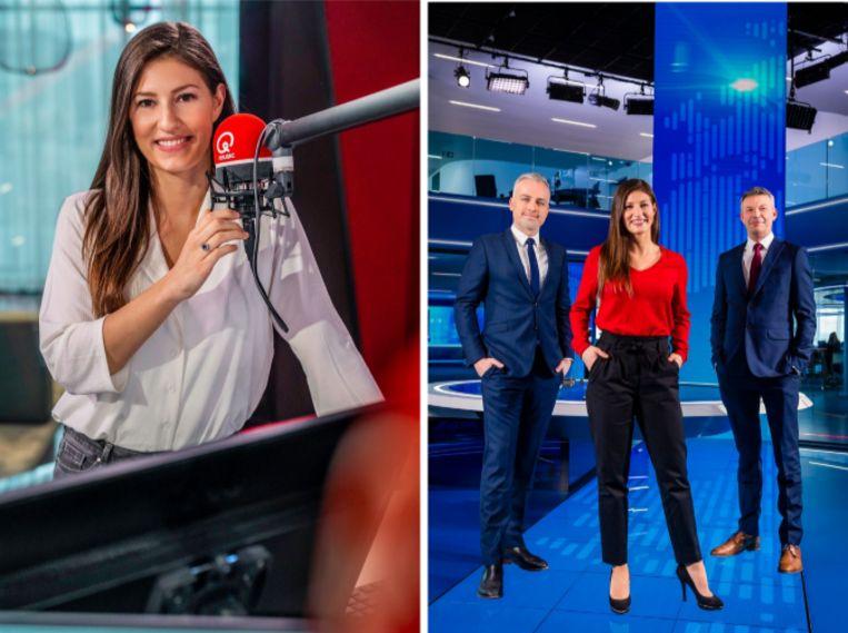 Lies Vandenberghe wordt het nieuwe VTM NIEUWS sportanker Beeld DPG Media