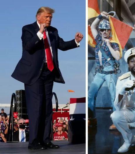 Hoe YMCA voor Donald Trump gewoon weer hetzelfde liedje werd