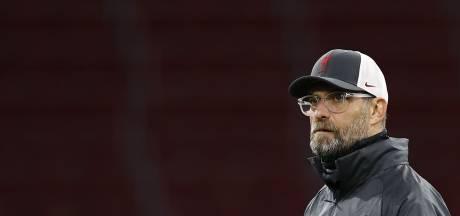Klopp gaat geen spelers sparen tegen Ajax: 'Dat kan ik niet eens'