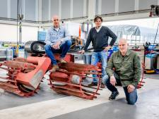 Willie Wortel in de polder: Dirk bedacht een landbouwmachine op waterstof