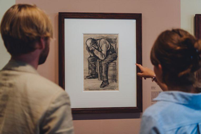 Mannenhuisbewoner Adrianus Jacobus Zuyderland zat tientallen keren model voor Vincent van Gogh. Beeld Jelle Draper