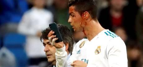 Zidane verdedigt 'ijdele' Ronaldo met selfiecamera