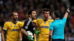 """Buffon: """"Als je dit als ref beslist, heb je geen hart, maar een vuilbak in je lichaam"""""""
