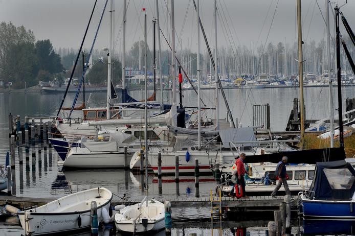 De jachthaven van Wolphaartsdijk.